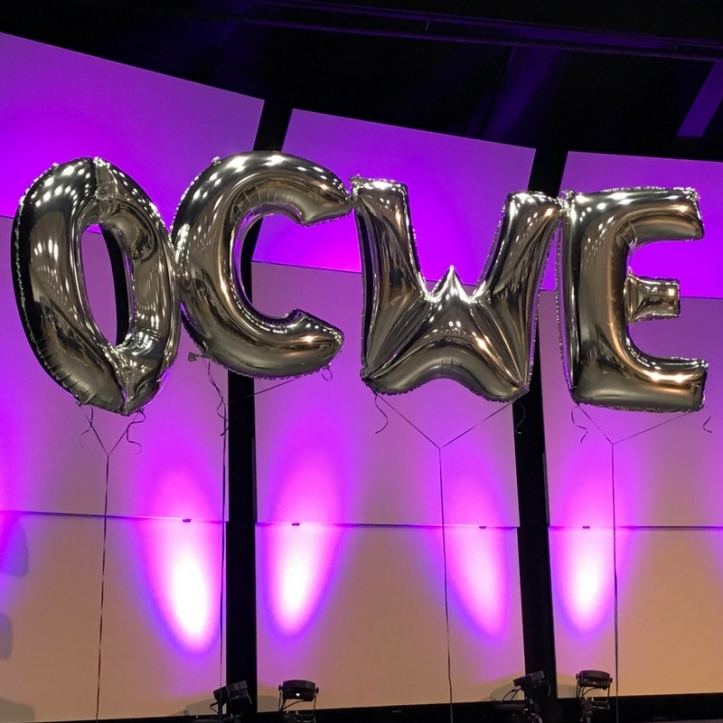 Share your photos from the event on social media using #OCWE (Photo credit: @sfmaggie; 2018)